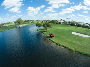 Aquatic Weed Management Solutions for Golf Courses