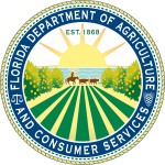 Seal of The Florida Department of Agriculture and Consumer Services (FDACS)